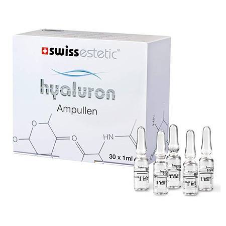 Swissestetic - Hyaluron Ampullen For Face - 30 Ampoules