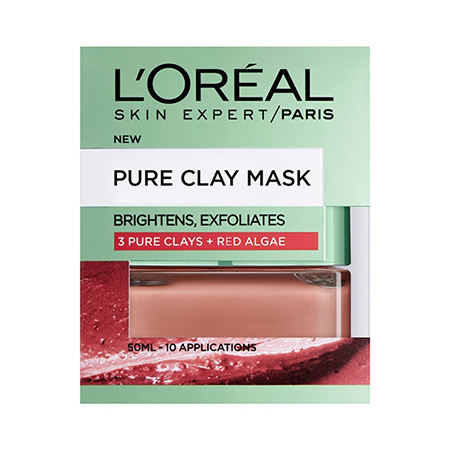 Pure Clay Green Mask With Red Alga - 50ML