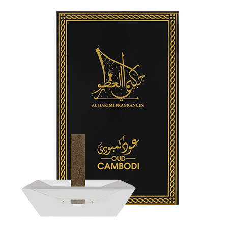 Smart Oud Cambodi - 10 Sticks with A Crystal Stand