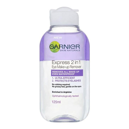 Skin Naturals 2-In-1 Eye Make Up Remover - 125ML