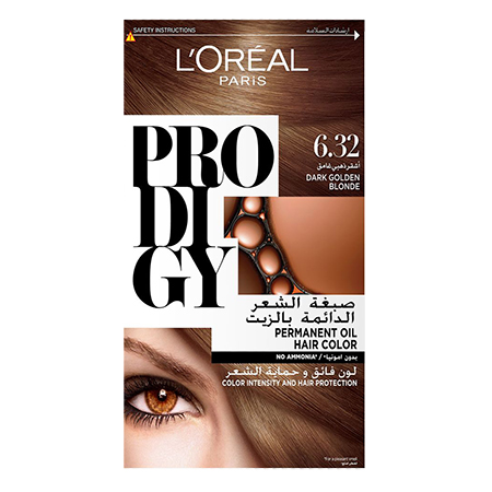 Prodigy Permanent Hair Color - N 6.32 - Pearl Brown