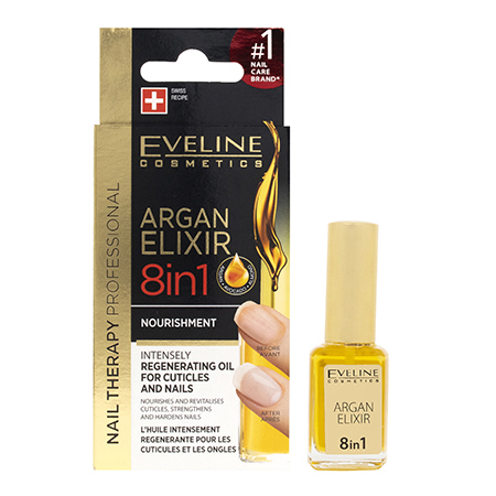 Argan Elixir 8 in 1 For Cuticles and Nails - 12ML
