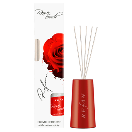 Rose Touch With Rattan Sticks  - 100 Ml
