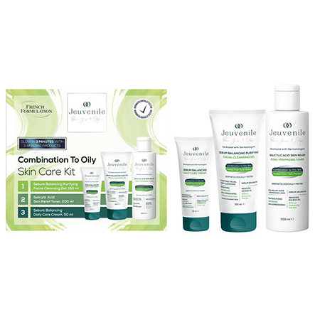 Combination to Oily Skin Care Set